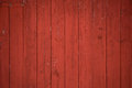 Vertical red barn boards and planks background Royalty Free Stock Photo
