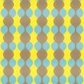Vertical Retro Waves Pattern