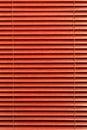 Vertical roja de la cortina Imagen de archivo libre de regalías