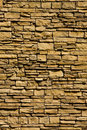 Vertical Stacked Rock Wall Royalty Free Stock Photo