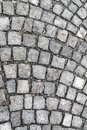 Vertical stone pattern gray marble background urban square of the old city Royalty Free Stock Photo