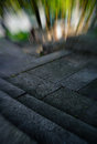Vertical vivid stone staris motion abstraction backdrop Stock Photos