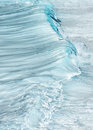 Vertical water poster Royalty Free Stock Photo