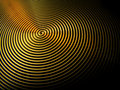 Vertigo swirls grooves circles ripples rings Royalty Free Stock Photo