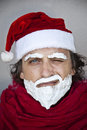 Very bad Santa Claus Stock Images