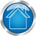 Very Beautiful Home button with gradient blue color