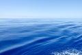 Very calm ocean Royalty Free Stock Photo