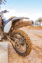 Very dirt motorbike sport background Royalty Free Stock Images