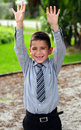 Very happy child Royalty Free Stock Photos
