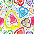 Very Love Seamless Pattern_eps Royalty Free Stock Photos