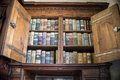 very old books in  St. Vitus Cathedral Royalty Free Stock Photo
