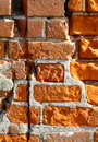 Very old brick wall Stock Photo