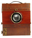 Very old photo camera Royalty Free Stock Photos