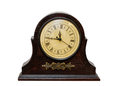Very Old Retro Antique Clock Royalty Free Stock Images