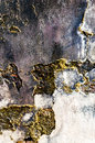Very old rusty cement wall for background closeup Royalty Free Stock Photos