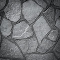 Very old stone wall texture made background Stock Photos