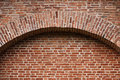 Very old weathered brick wall background Stock Photography