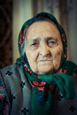 Very old woman Royalty Free Stock Photo