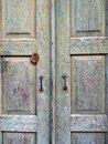 Very Old Wooden Doors Royalty Free Stock Photo