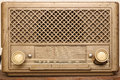 Very old worn radio a Royalty Free Stock Photography