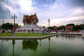 The vesak day in thailand Royalty Free Stock Photos