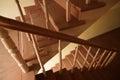 Vestíbulo de la escalera Fotografía de archivo libre de regalías