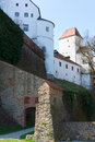Veste oberhaus castle in passau germany Stock Photography