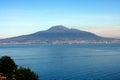 Vesuvio Volcano Naples Italy Royalty Free Stock Photo