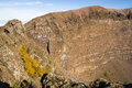 Vesuvius crater Royalty Free Stock Photo