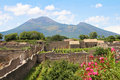 Vesuvius volcano Royalty Free Stock Photo