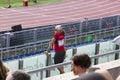 Veteran athlet Royalty Free Stock Photo