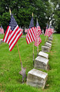 Veteran Grave Sites Stock Image