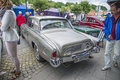 Veteran studebaker gt hawk the image is shot at an exhibition in the main street in downtown halden norway Stock Photography