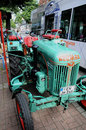 Veteran tractor Normag Royalty Free Stock Photography