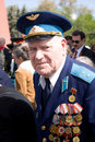 Veteran on Victory Day Royalty Free Stock Photo