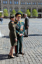 Veteran of the wwii moscow russia may celebration th anniversary victory day on red square Stock Photos