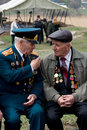 Veterans of World War II Royalty Free Stock Photography