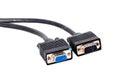 VGA Monitor Cable Royalty Free Stock Photo