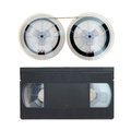 VHS Cassette Tape Royalty Free Stock Photo