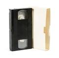 VHS video cartridge Royalty Free Stock Image