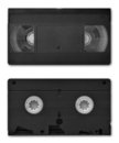 VHS video cassette Royalty Free Stock Photo
