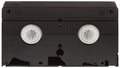 VHS Videotape Cutout Royalty Free Stock Photo
