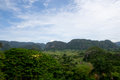 Viñales valley a view of the in cuba located a short distance outside havana this is very popular with tourists due to its Stock Photos