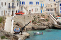 Via Grotte a Levanzo Stock Photo