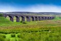 Viaduct in north yorkshire the dales england Stock Images