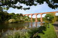 Viaduct over the Esk. Royalty Free Stock Image