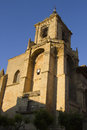 Viana santa maria de la asuncion church in navarra Royalty Free Stock Image