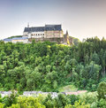 The Vianden Castle, Luxembourg Royalty Free Stock Photo