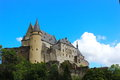Vianden Castle , Luxembourg Royalty Free Stock Photo
