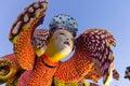 Viareggio letzte parade des karnevals von Lizenzfreie Stockfotos